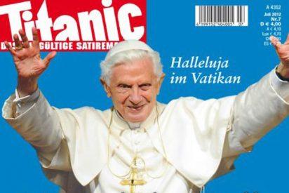 La revista alemana 'Titanic' recurrirá el veto del Vaticano sobre el fotomontaje del Papa