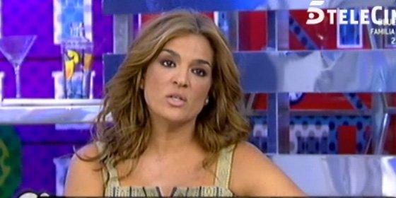 """Se descubre lo que pasó realmente entre Chelo García Cortés y la hija de la Pantoja, y Raquel Bollo explota: """"Me juego mi puesto"""""""
