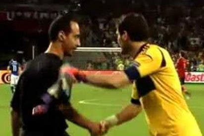 "Casillas al árbitro de la Eurocopa: ""Pita ya; un respeto para Italia"""