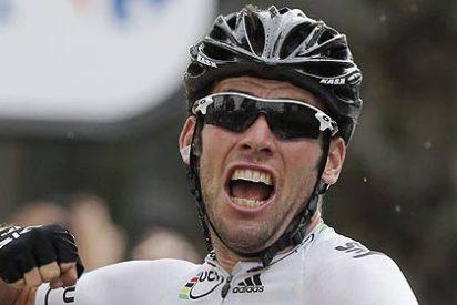Cavendish gana la etapa del Tour y a Wiggins le quedan sólo dos días