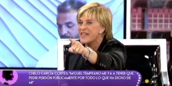 """A Chelo García Cortés se le acabó el chollo: su amistad con la Pantoja """"está muerta"""" y ya no podrá dar más informaciones sobre ella"""