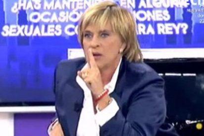 """Chelo García Cortés, rota completamente, sufre un ataque de ansiedad en directo y, encima, su amiga Isabel Pantoja se enfada: """"He sido una cobarde"""""""