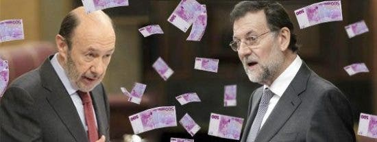 Los políticos nos costarán 65 millones en 2012