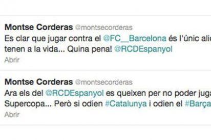 """Una periodista de TV3 cree que el Espanyol """"odia"""" Cataluña"""