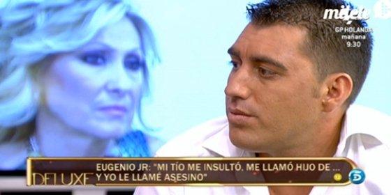 """El sobrino de Ortega Cano pone en jaque a Rosa Benito en 'Deluxe' y abre la caja de Pandora: """"Mi tío me pegó una paliza. Los dos hemos estado con la misma mujer"""""""