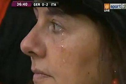 Alemania denuncia a la TV de la UEFA por manipular su 'dolor'