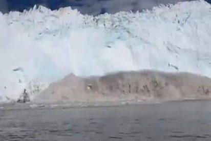 El capitán bobo, el turista imprudente, el glaciar y el tsunami