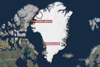 Un iceberg el doble de grande que Manhattan se desprende en Groenlandia