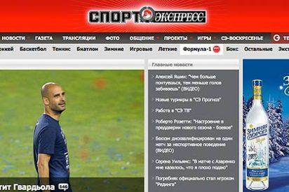 La prensa rusa asegura que Pep Guardiola dirigirá a la selección de Rusia