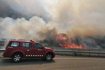 """La Iglesia de Girona """"colaborará en todo lo que esté a nuestro alcance"""" para sofocar el incendio"""