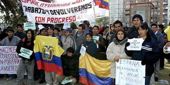 Los ecuatorianos se van de España a otros países europeos