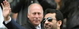 """El jeque Al Thani guerrea en Twitter hablando de """"corrupción y sobornos"""" en clubes de la Liga, mientras el diario 'Olé' le acusa de moroso"""