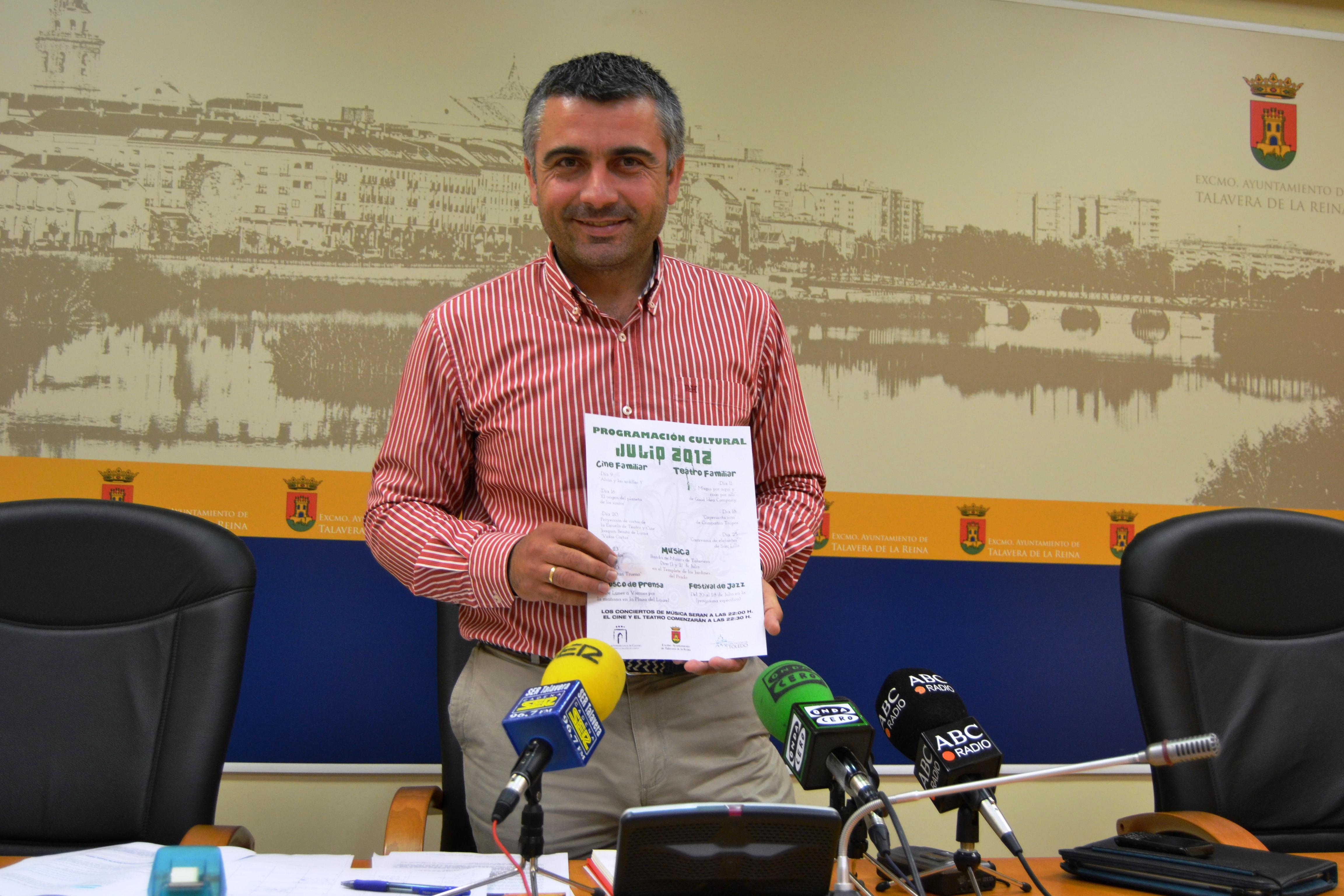 El Ayuntamiento de Talavera presenta la programación cultural de verano