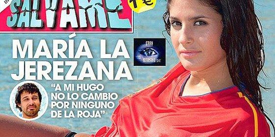 María ('GH12+1') vuelve a despelotarse y habla del 'piquetón' de su novio, de fútbol y de la mala relación con sus excompañeros