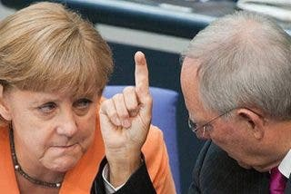 La Alemania de Merkel ha decidido por fin apoyar al Gobierno Rajoy