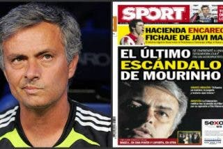 'Mundo Deportivo' se lía por el afán de apalear a José Mourinho y publica una historia poco verosímil que después recoge 'Sport'