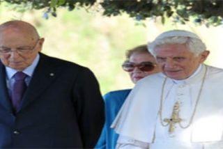 "Giorgio Napolitano, presidente de Italia: ""Mi amigo Benedicto XVI"""
