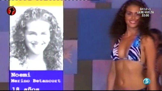 El Desnudo Integral De Noemí Gh121 En Interviú Y El Misterio De