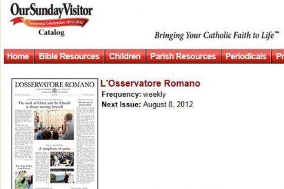 L'Osservatore romano, a la conquista de USA