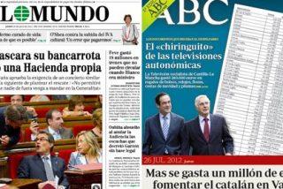 Con Mas y Griñán es imposible que a España le baje la prima de riesgo