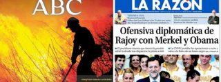 La Razón y ABC se clonan para frenar a los mercados y dar un respiro a Rajoy