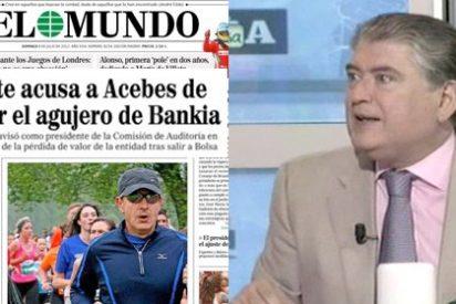 """Xavier Horcajo: """"Acebes se desmayó en una boda cuando vio la portada de El Mundo y Bankia"""""""