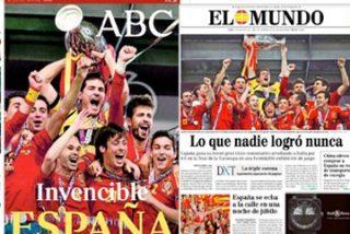 Por un día, llevar la bandera de España no te convierte en facha
