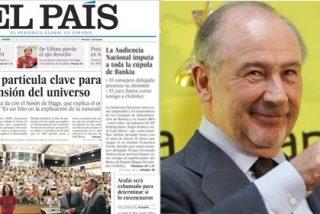 El País esconde en su portada el boquete de Bankia, principal acreedor de PRISA
