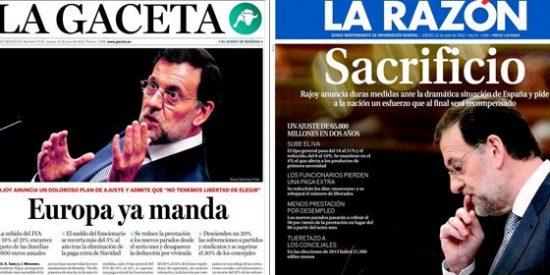 Bruselas ya manda en España