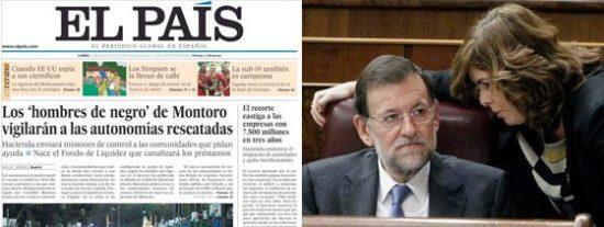El País sigue marcando la agenda del PP mientras las calles huelen a gasolina