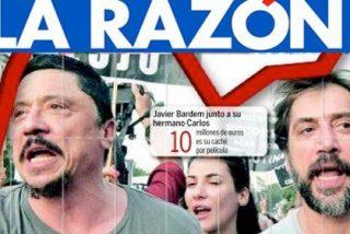 Cría actores millonarios... el Bardem más pancartero regresa para gritar contra el PP