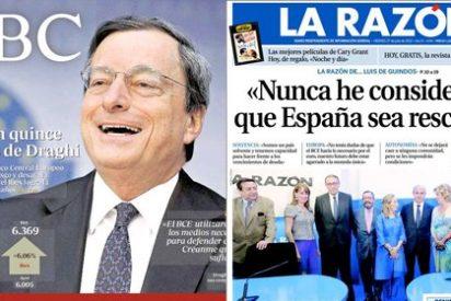Draghi ahuyenta a los especuladores, como Clint Eastwood a los cuatreros: con unas palabras