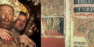 Rajoy devuelve el Códice en el Palacio de Xelmírez