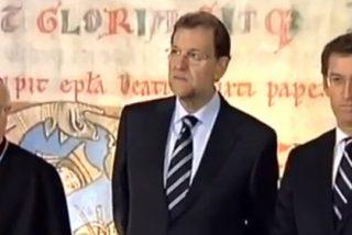 Peregrinos infiltrados enfadados con Rajoy