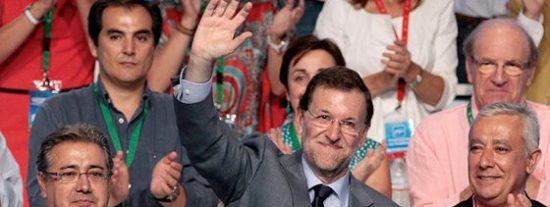 Rajoy anima al PP a practicar un deporte de riesgo: ir con la cabeza muy alta