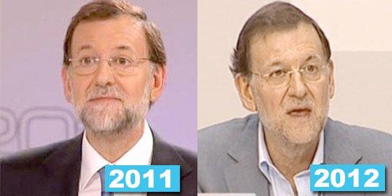 Rajoy pierde peso en la báscula y España pierde peso en Europa