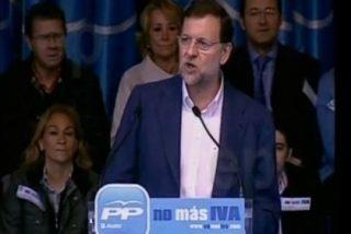 La mejores frases de Rajoy, Montoro, Mato y otros contra la subida del IVA, ¡en la web del PP!
