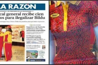 'La Razón' abre su portada con el uniforme olímpico de España ya desfasado por la filtración del nuevo modelo
