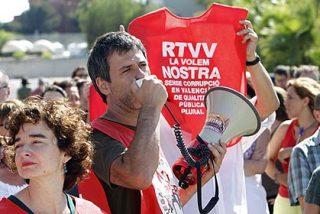 Los ingresos de RTVV no cubren ni la cuarta parte del sueldo del personal