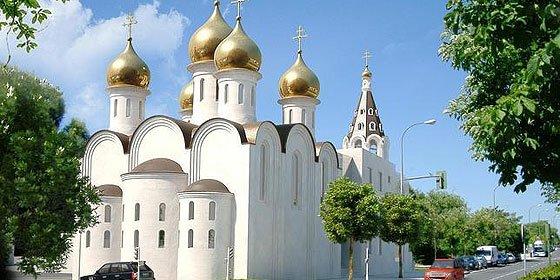 Una 'catedral' ortodoxa rusa en en pleno corazón de Madrid