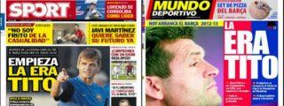 """'Sport' y 'Mundo Deportivo' pasan del éxito de España sub-19 para centrarse en una idea común: """"La era Tito"""""""