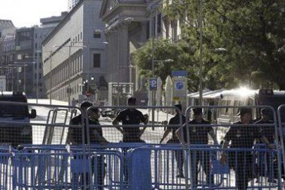 Golpismo 'indignado': la Policía protege el Congreso ante planes de asaltarlo y acampar dentro