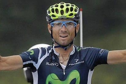 Valverde logra la segunda victoria española y Wiggins deja sentenciado el Tour