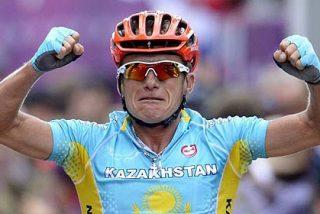 Vinokourov se corona como el campeón olímpico más veterano de la historia
