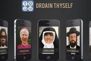 Sea cura, monja, imán o rabino a través del iPhone