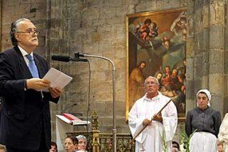 Los alcaldes se encomiendan a la Virgen para salir de la crisis