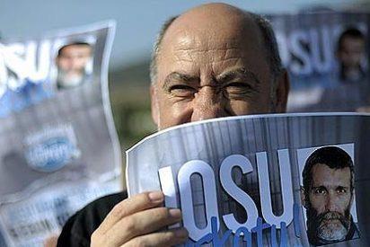Un franciscano lidera una marcha en favor de la excarcelación de Bolinaga