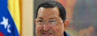Hugo Chávez, televendedor de chopped en un supermercado venezolano