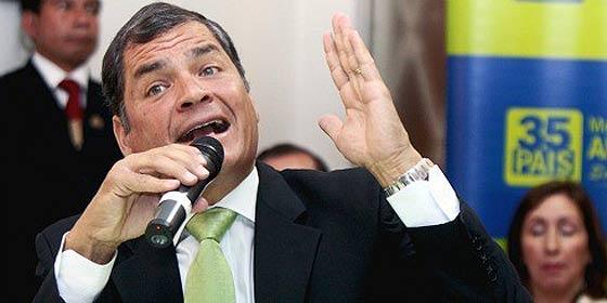 El ecuatoriano Correa supera a Chávez como 'bestia negra' de los medios