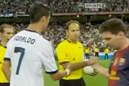 Leo Messi y Cristiano Ronaldo hicieron lo imposible para no saludarse